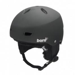 Горнолыжный шлем женский Bern Brighton EPS | Matte Black | Вид 1