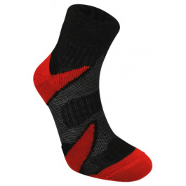 Носки Bridgedale CoolFusion™ Multisport | Black/Red | Вид 1