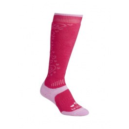 Носки детские Bridgedale Girl's All Mountain Kid's | Raspberry/Pink | Вид 1