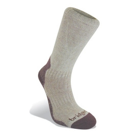 Носки женские Bridgedale Viscose from Bamboo Women's Crew | Aubergine | Вид 1