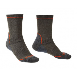 Носки мужские Bridgedale Hike Lightweight T2 Coolmax Performance Boot | Dark Grey | Вид 1
