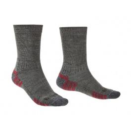 Носки мужские Bridgedale Hike Lightweight Merino Perfomance Boot Original | Grey Heather | Вид 1