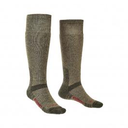 Носки мужские Bridgedale Explorer Heavyweight Merino Perfomance Knee | Olive | Вид 1
