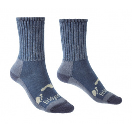 Носки детские Bridgedale Hike All Season Junior Merino Comfort Boot | Storm Blue | Вид 1