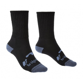 Носки детские Bridgedale Hike All Season Junior Merino Comfort Boot | Black | Вид 1