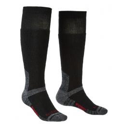 Носки мужские Bridgedale Explorer Heavyweight Merino Perfomance Knee | Black | Вид 1