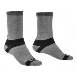 Носки мужские Bridgedale Liner Base Layer Coolmax Boot 2pair-pack | Grey | Вид 1
