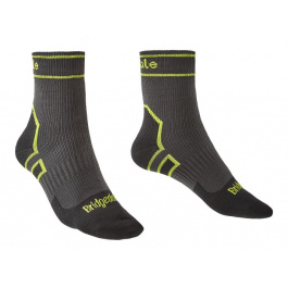 Носки Bridgedale StormSock Lightweight Ankle | Dark Grey | Вид 1
