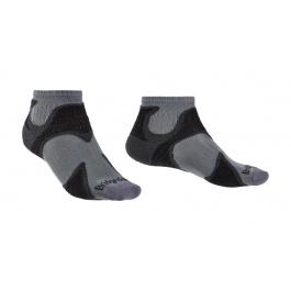 Носки мужские Bridgedale Ultra Light T2 Merino Cool Comfort Ankle | Gunmetal/Black | Вид 1