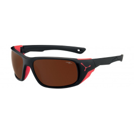 Очки солнцезащитные Cebe Jorasses L Matt Black Red 2000 Brown AF FM | Matt Black/Red | Вид 1
