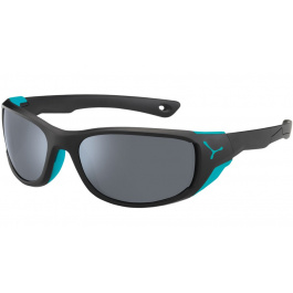 Очки солнцезащитные Cebe JORASSES M | Matt Black/Turquoise | Вид 1