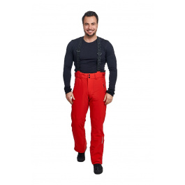 Брюки Descente SWISS SKI TEAM PANT | Electric Red | Вид спереди