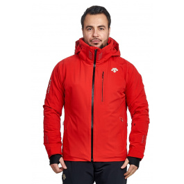 Куртка Descente REGAL | Electric Red | Вид спереди