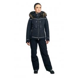 Куртка женская DESCENTE NOVA | Black | Вид спереди