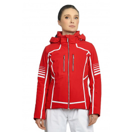Куртка женская Descente EVANGELINE | Electric Red | Вид спереди
