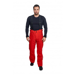 Брюки Descente SWISS PANTS R | Electric Red | Вид спереди