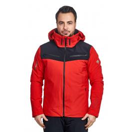 Куртка Descente SWISS SKI   Electric Red   Вид спереди