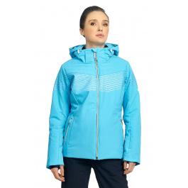 Куртка женская Descente ALESSIA | Cerulean Blue | Вид спереди