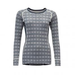 Термобелье футболка женская Devold Devold ALNES WOMAN SHIRT | Night | Вид 1