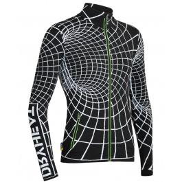 Куртка мужская DRYHEAT MAN FULL ZIP | BLACK/WHITE | Вид 1