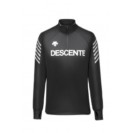 Пуловер Descente DESCENTE 1/4 ZIP | Black/Super White | Вид 1