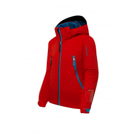 Костюм горнолыжный детский Descente Big Pocket Junior Suit | Electric Red | Вид 1