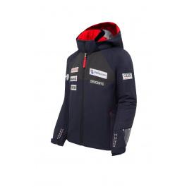 Костюм горнолыжный детский Descente Swiss Ski Replica Junior Suit | Steal Navy | Вид 1