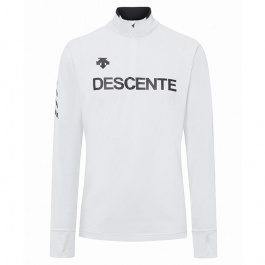Пуловер Descente DESCENTE 1/4 ZIP | Super White| Вид 1