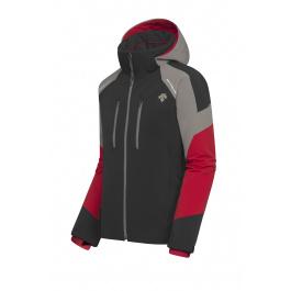 Куртка мужская Descente SLADE | Black/Electric Red | Вид 1