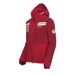 Куртка мужская Descente S.I.O. INSULATED JACKET SWISS NATIONAL TEAM REPLICA | Electric Red | Вид 1