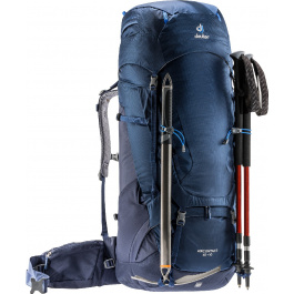 Рюкзак Deuter Aircontact 65+10 | Midnight/Navy | Вид 1