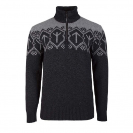 Свитер Dale of Norway Tor Masculin sweater | Dark Charcoal/Smoke | Вид 1