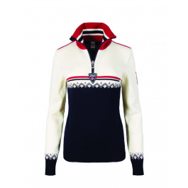 Пуловер женский Dale of Norway Lahti feminine sweater | Navy | Вид 1