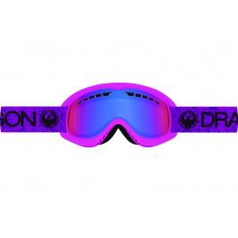 Маска Dragon DX   Violet   Вид спереди