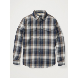 Рубашка мужская Exofficio M Stonefly Midwt Flannel LS | Stormy Weather | Вид 1