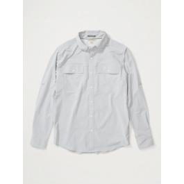 Рубашка мужская Exofficio M Vizcaino LS | Sleet | Вид 1