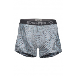 Трусы Exofficio M GNG Sport Mesh Print 3'' Boxer Brief | DK Pebble Diagonal | Вид 1