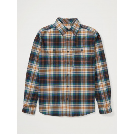 Рубашка мужская Exofficio M BA Redding Flannel LS INTL | Black | Вид 1