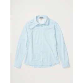 Рубашка женская Exofficio W Balandra LS   Blue Bell   Вид 1