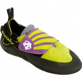 Скальные туфли детские Evolv Venga | Lime/Purple | Вид 1