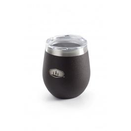 Термокружка с крышкой GSI GLACIER STAINLESS GLASS    Espresso   Вид 1