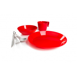 Набор посуды GSI Cascadian 1 Person Table Set | Red | Вид 1