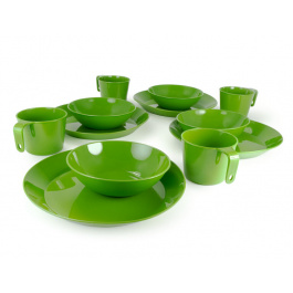 Набор посуды GSI Cascadian 4 Person Table Set | Green | Вид 1