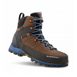 Ботинки Garmont Toubkal GTX Man | Dark Brown/Blue | Вид сбоку