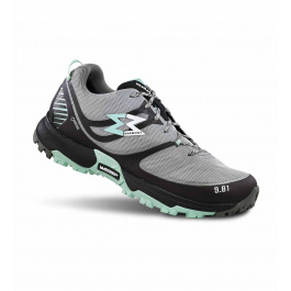 Кроссовки женские Garmont 9.81 Track GTX WMS | Dark Grey/Light Green| Вид 1