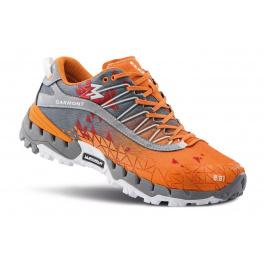 Ботинки мужские Garmont 9.81 Bolt | Grey/Orange | Вид 1
