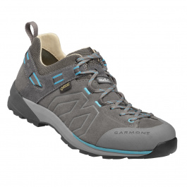 Кроссовки женские Garmont Santiago Low GTX Wm's | Grey/Turquoise | Вид1