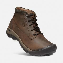 Ботинки KEEN Austin Casual Boot WP M | Chocolate Brown/Black Olive | Вид 1