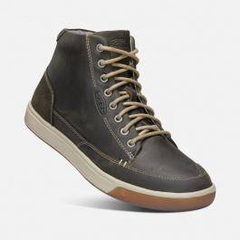 Ботинки KEEN Glenhaven Sneaker Mid M   Dark Olive/Black Olive   Вид 1