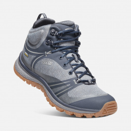 Ботинки женские KEEN Terradora Mid WP W | Blue Nights/Blue Mirage | Вид 1